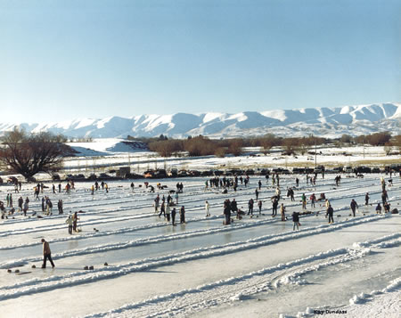 Curling in Central Otago